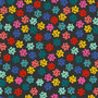 Bows Charcoal from the Peppermint collection by Figo Fabrics. 100% Cotton Fabric