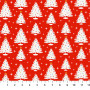 Christmas Trees Red from the Peppermint collection by Figo Fabrics. 100% Cotton Fabric