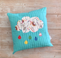 Rainy Days Cushion made using the Dream collection designed by Kristy Lea for Riley Blake Designs. 100% Lightweight Cotton (Image Credit: Kristy Lea)