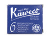 Kaweco ink cartridges, royal blue
