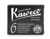 Kaweco ink cartridges, black