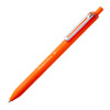 Pentel iZee retractable ballpoint pen, orange