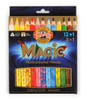 Koh-I-Noor 3408 Magic Jumbo triangular coloured pencils, packaged
