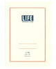 Life Japan 'Vermilion' notebook, lined paper