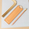 Makers Cabinet Stria leather case