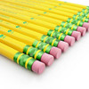 Ticonderoga HB pencils with pink latex-free erasers