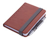 Troika Lilipad notebook and Liliput pen, brown.