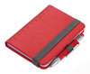 Troika Lilipad notebook and Liliput pen, red