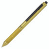 Monteverde Quadro 4 in 1 multi-function pen, brass