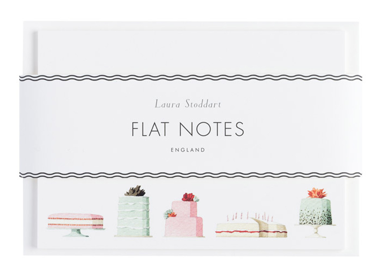 Laura Stoddart flatnotes, Cakes front