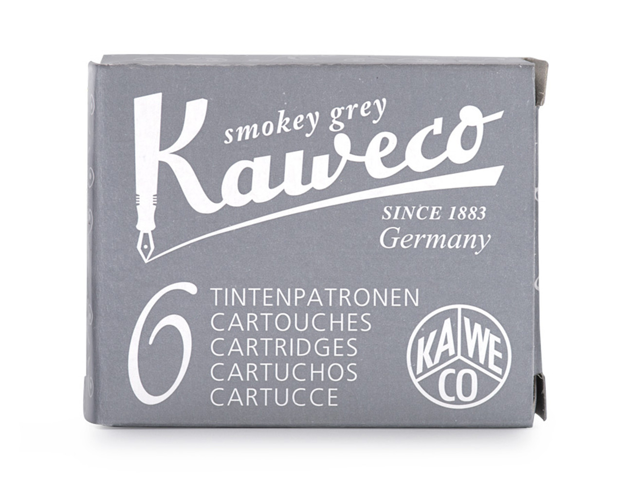 Kaweco ink cartridges, smokey grey