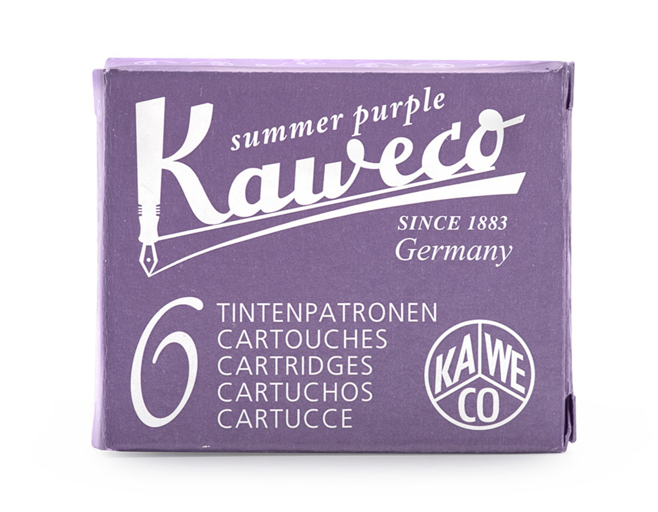 Kaweco ink cartridges, summer purple
