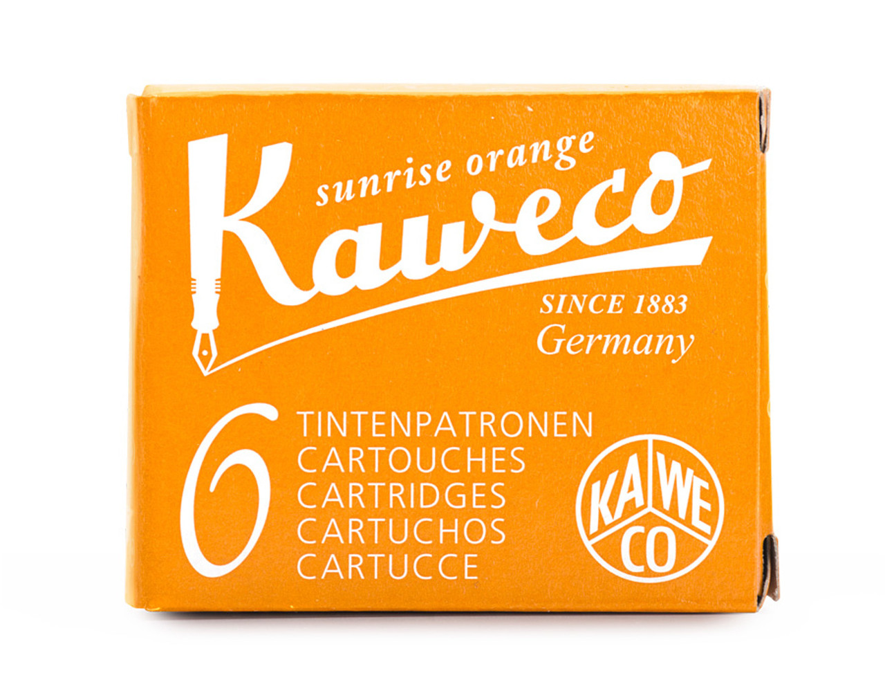 Kaweco ink cartridges, various colours