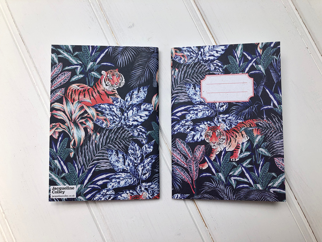 Jacqueline Colley Tiger notebook cover