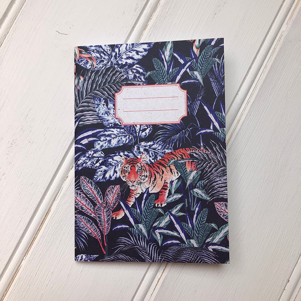 Jacqueline Colley Tiger notebook front