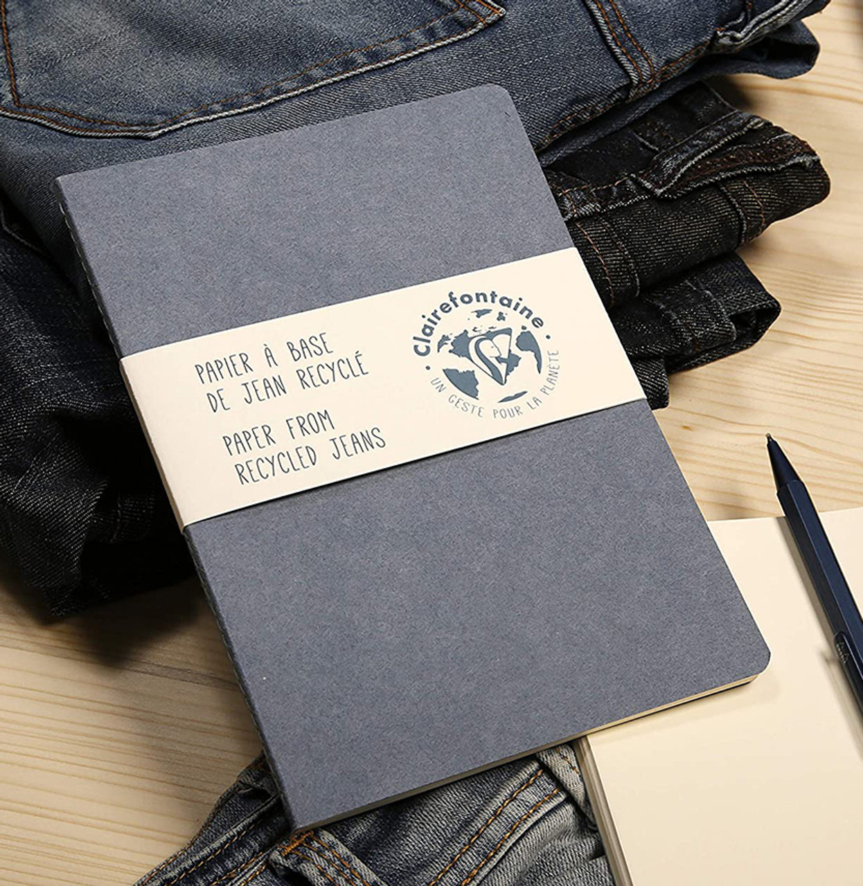 Clairefontaine A6 Jeans notebook
