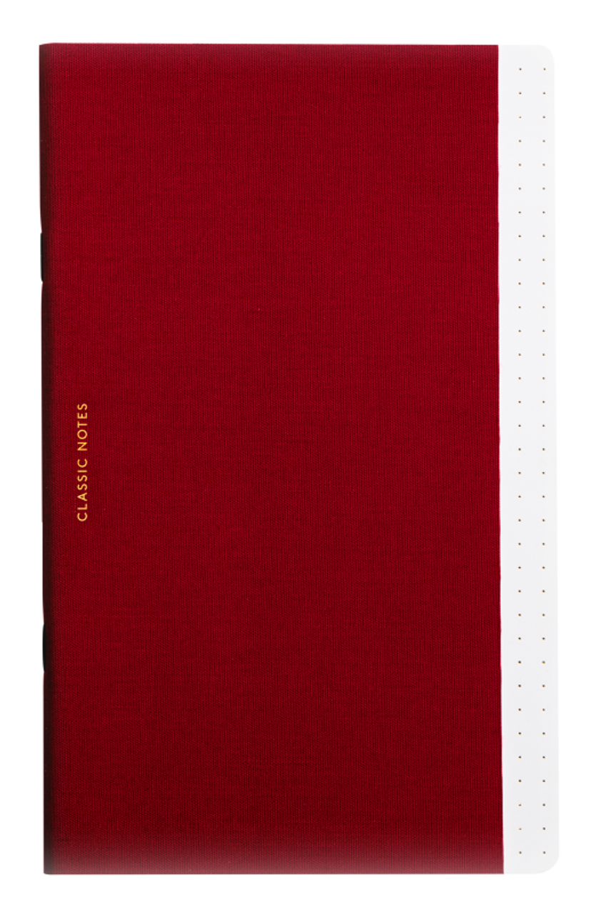 Octaevo Classic Notes notebook, red