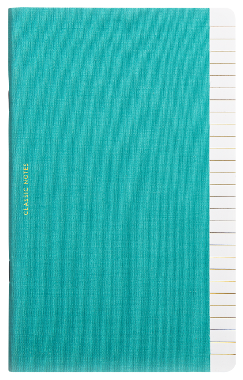Octaevo Classic Notes notebook, turquoise