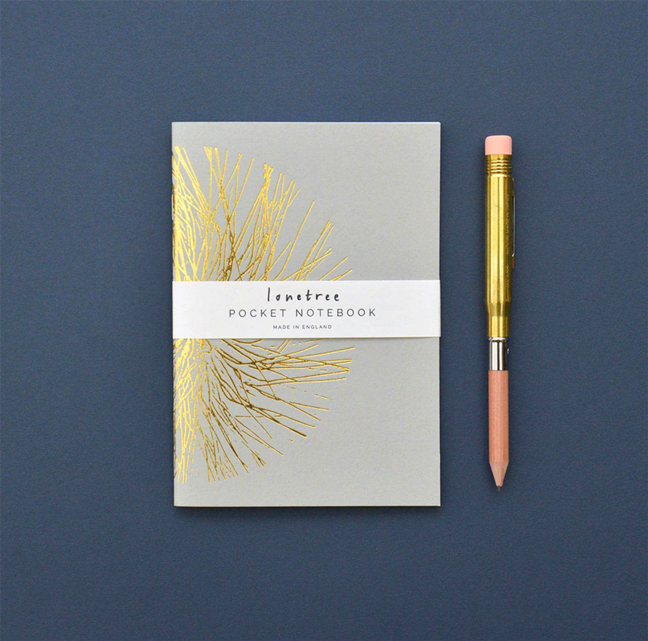 Lonetree Geometrics in Nature notebook, grey