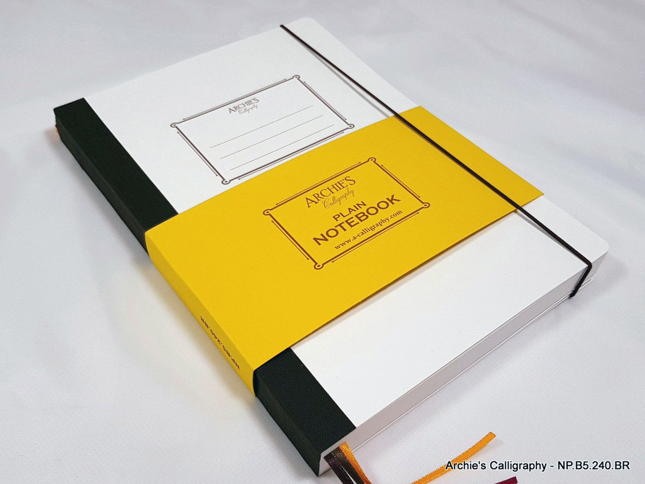 Archie's Calligraphy notebook refill, plain paper