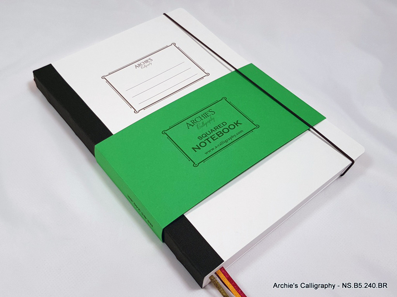 Archie's Calligraphy notebook refill, squared paper