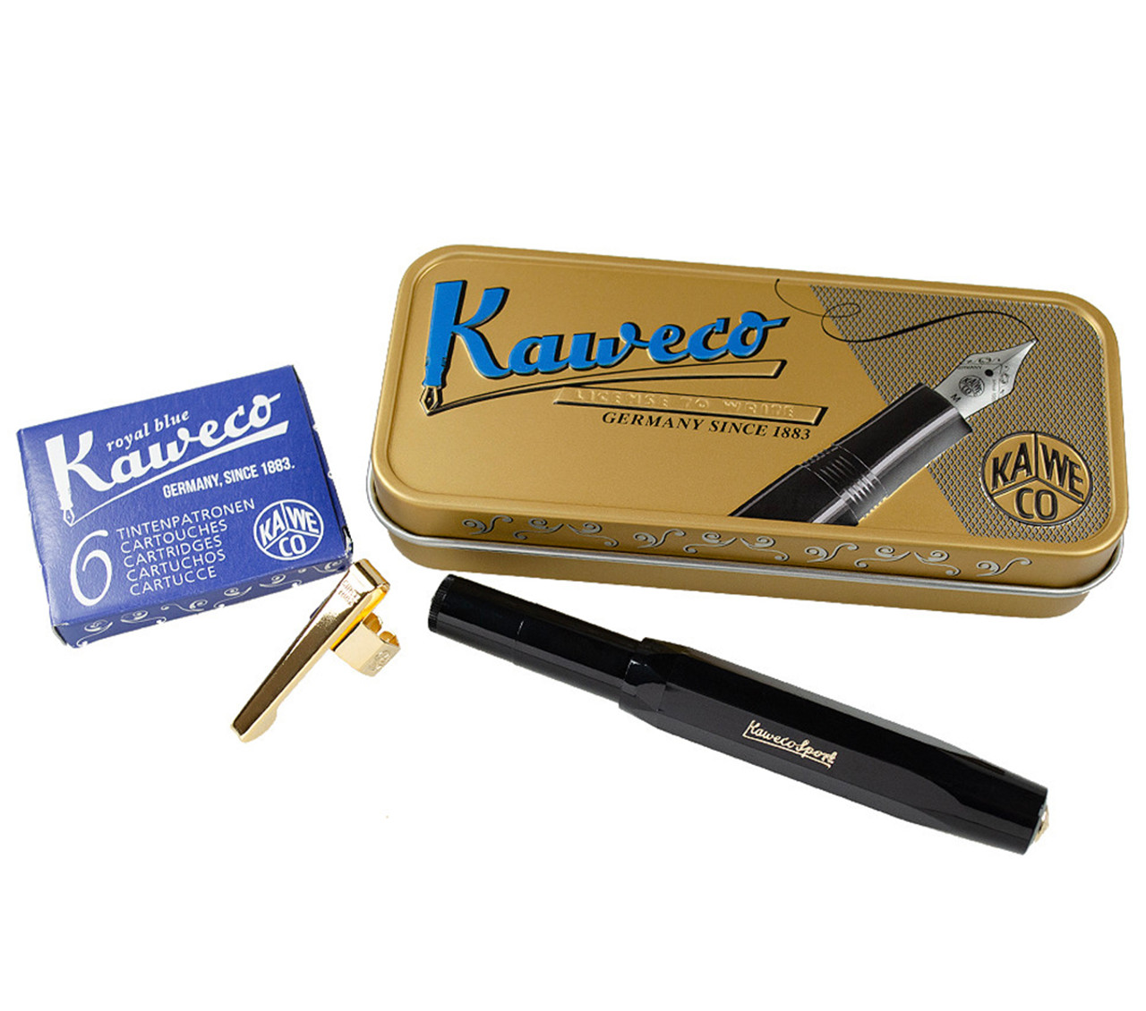 Kaweco Sport fountain pen gift set