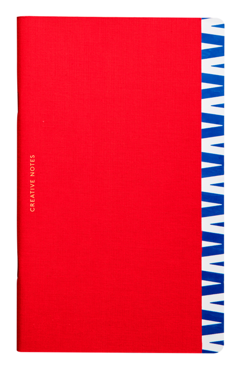 Octaevo Creative Notes notebook, red