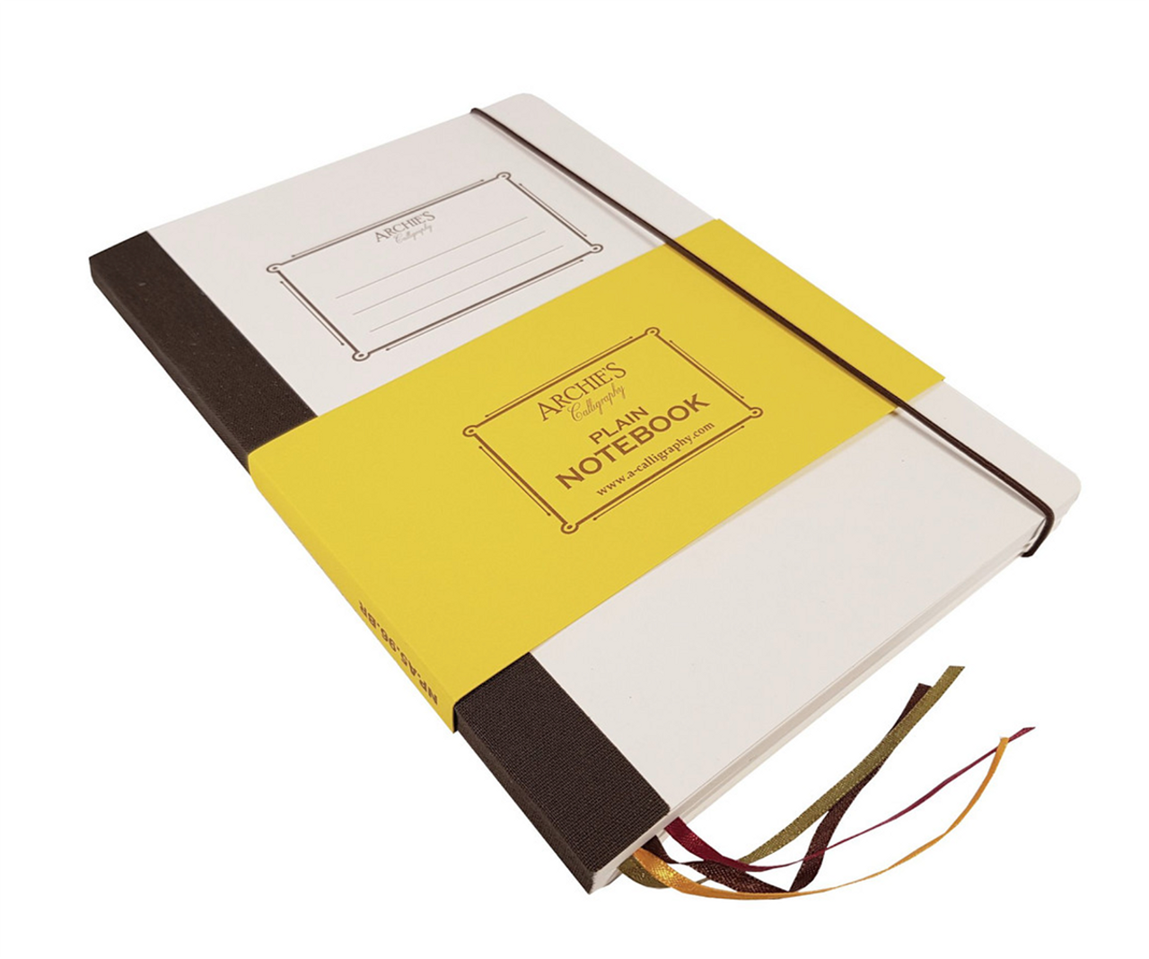 Archie's Calligraphy A5 notebook, plain pages