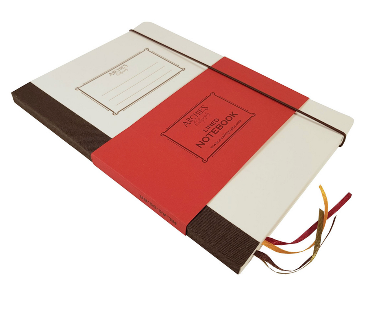 Archie's Calligraphy A5 notebook, lined pages