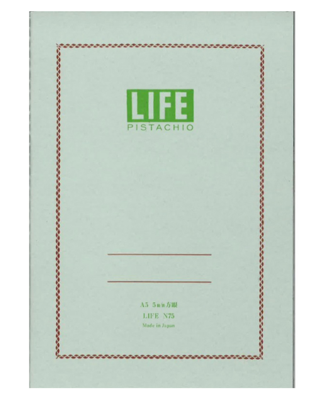 Life Japan Pistachio N75 notebook