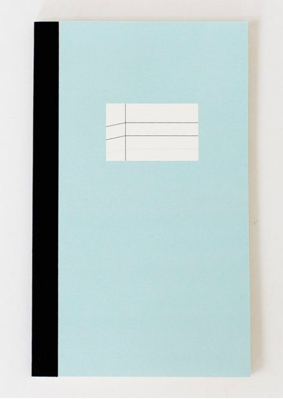 Paperways notebook, blue cover