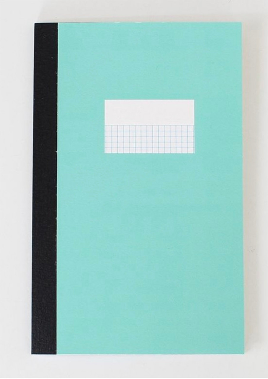 Paperways notebook, green cover