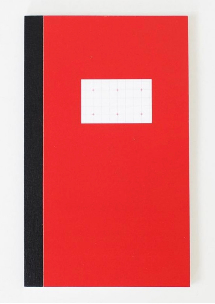 Paperways notebook, red cover