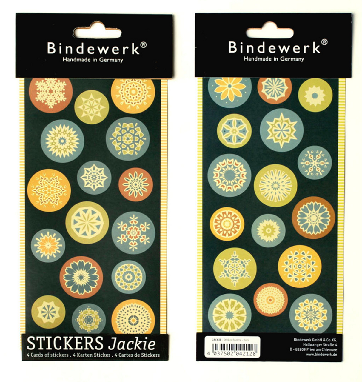 Bindewerk stickers, Suzette dots