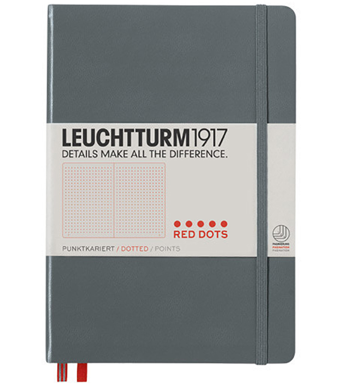 Leuchtturm1917 Red Dot Edition Anthracite
