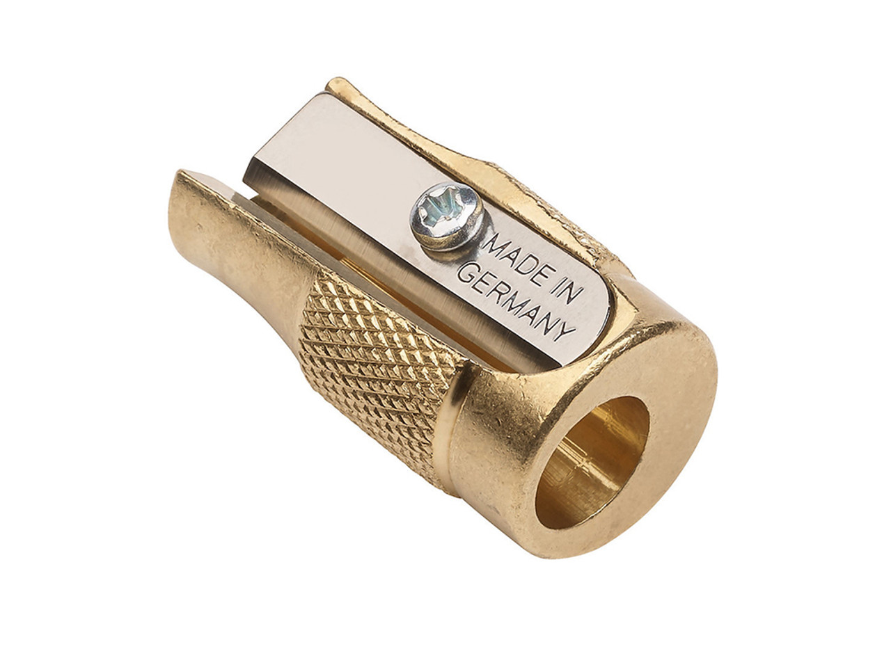 Product - Mobius + Ruppert Pollux brass pencil sharpener