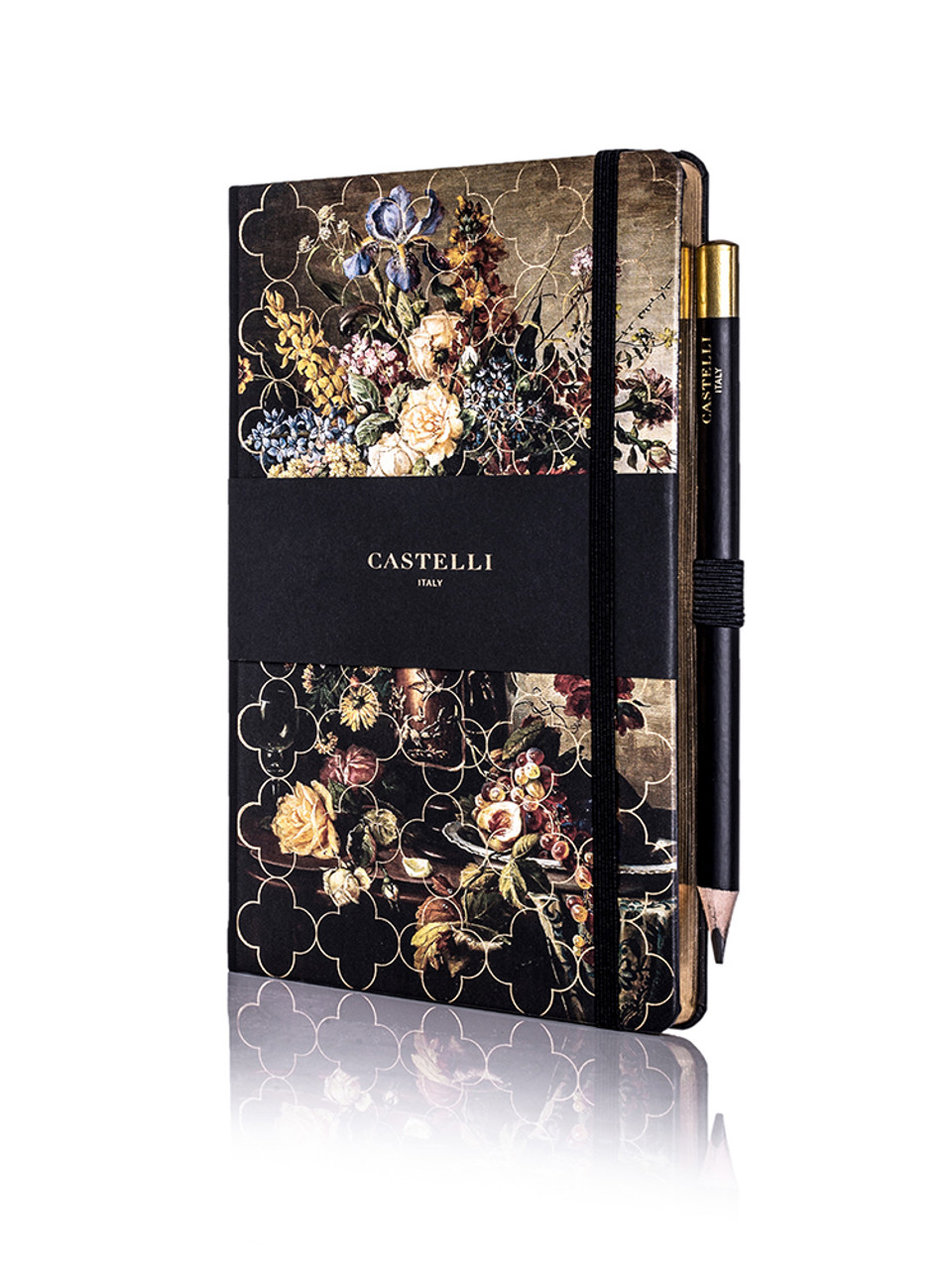 Castelli Vintage Floral notebook, Rose