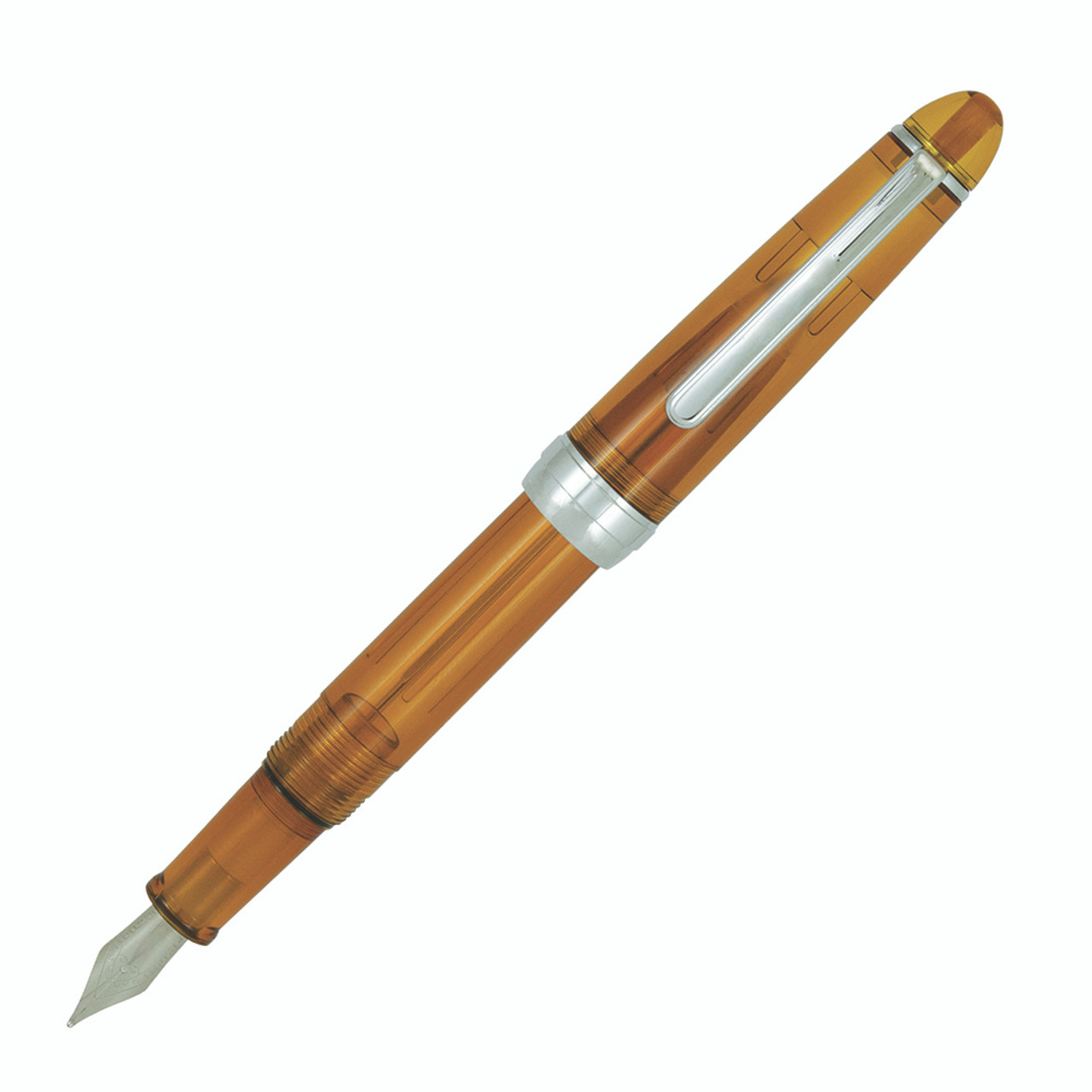 Monteverde Monza fountain pen - Honey Amber