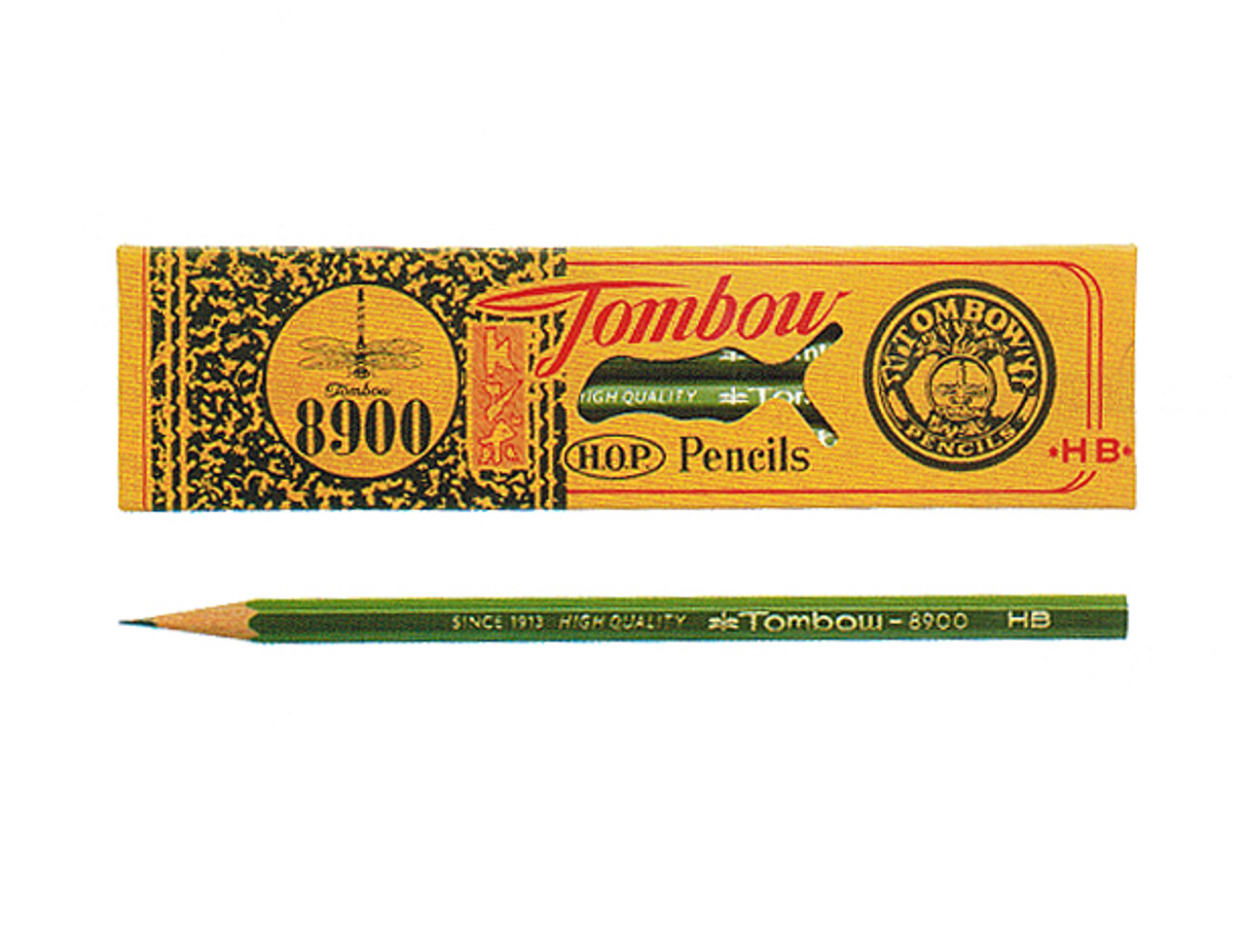 Tombow 8900 graphite pencils