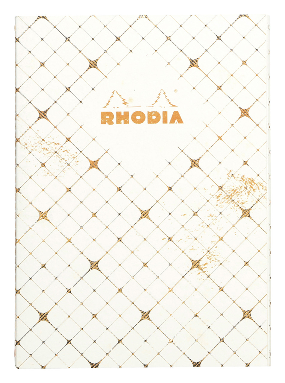 Rhodia Heritage Quadrille notebook, A5, stitched spine