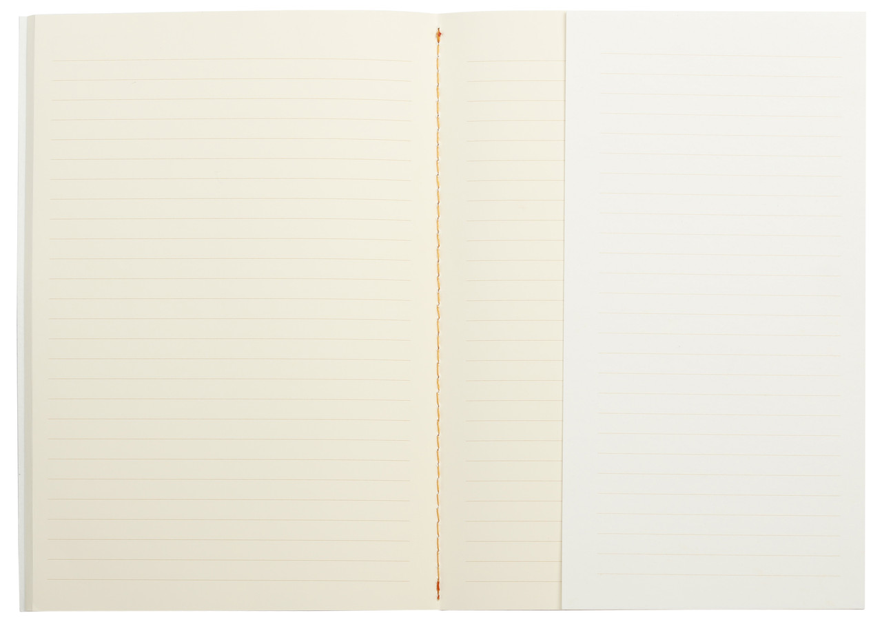 Rhodia Heritage Quadrille notebook, A5, stitched spine, ruled pages