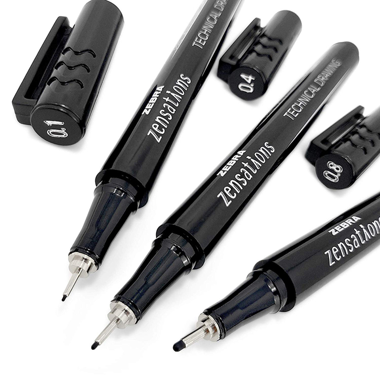 Zebra Zensations technical drawing pens