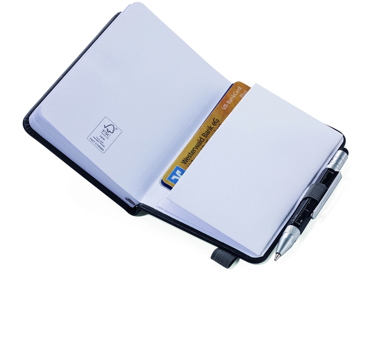 Troika Lilipad notebook pocket.