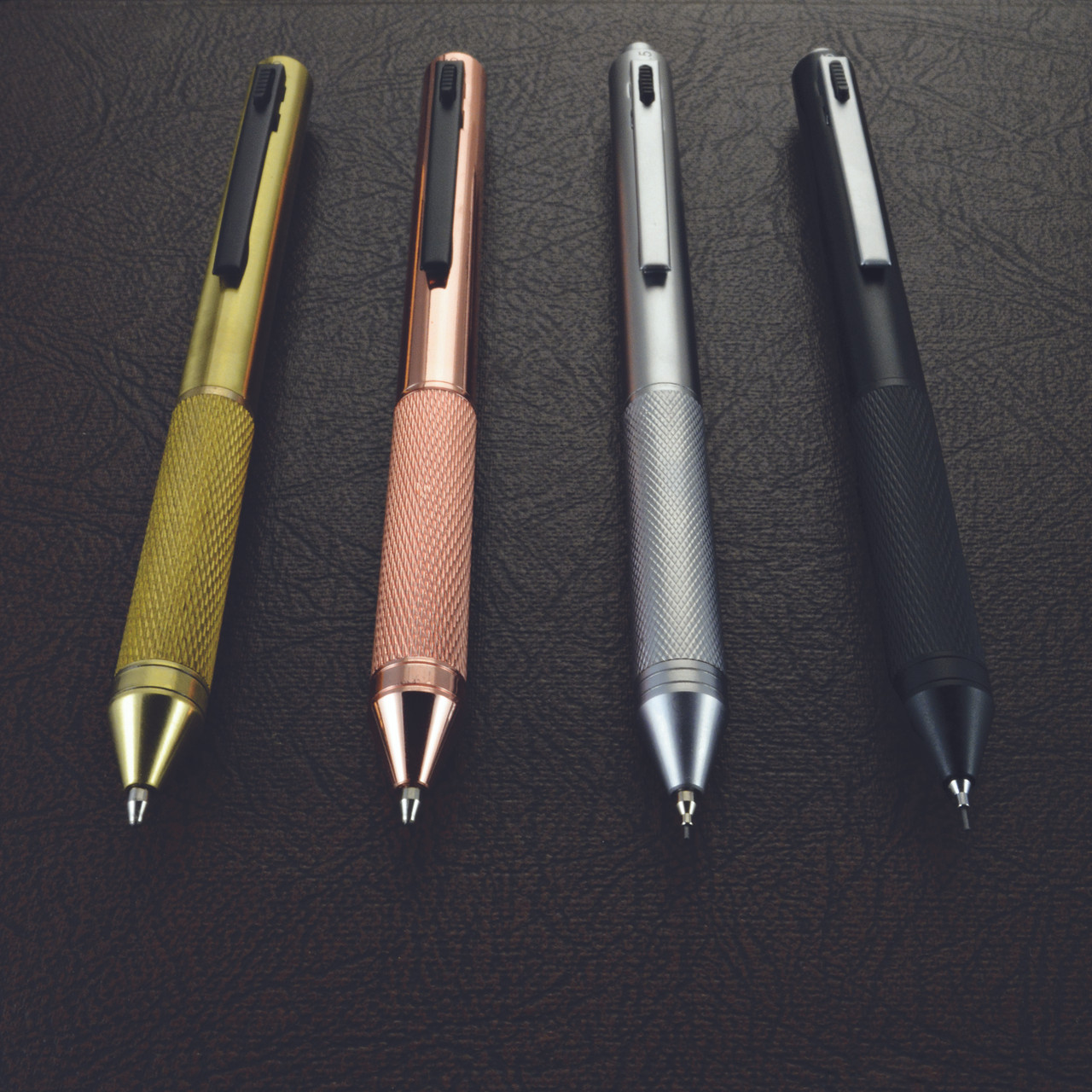 Monteverde Quadro 4 in 1 multi-function pen and mechanical pencil