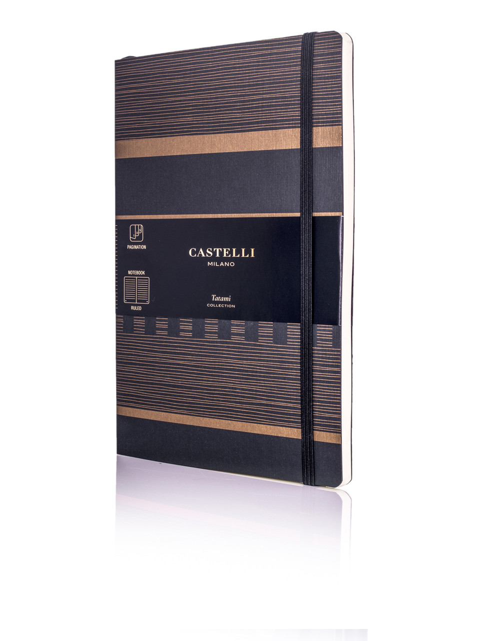 Castelli Tatami journal, Dark Espresso