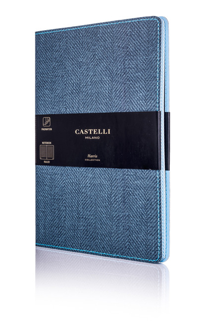 Castelli Harris journal, Slate Blue