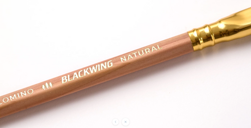 Blackwing natural pencil detail