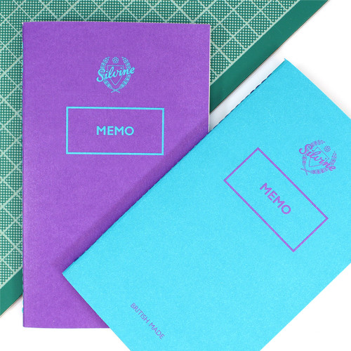 Silvine Original Aurora Memo notebooks