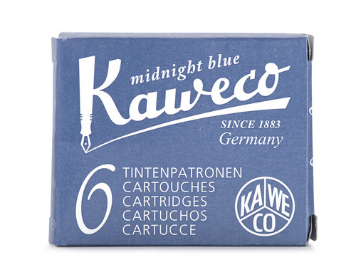 Kaweco ink cartridges, midnight blue