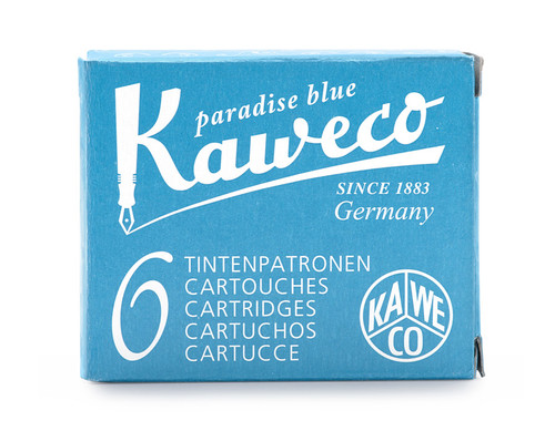 Kaweco ink cartridges, paradise blue